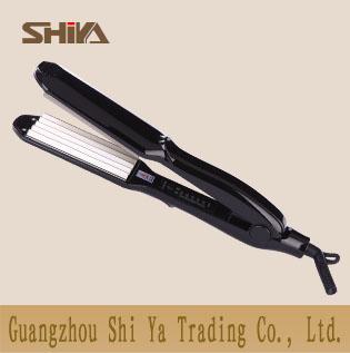 Sy 9839b Shiya Hair Straightening Flat Iron Manufacturer With Titanuim Plates