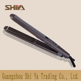 Sy 9918 Shiya China Hair Straightener Flat Irons Lcd And Led Ptc Heater Fast Heat Up