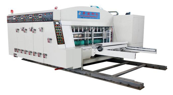 Sykm950 Sykm4212 4680 High Speed Printing Slotting Die Cutting Machine Lead Edge Feeding