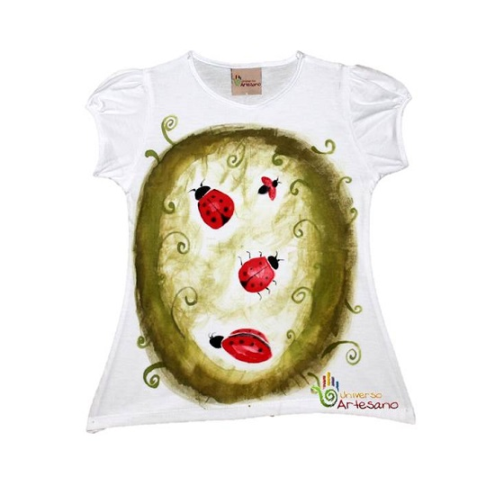 T Shirt For Kids 100 Pima Cotton Hand Painted