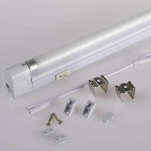 T5 Full Plastic Fluorescent Light Fitting