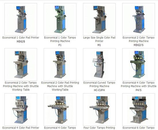 Tampo Printing Machine Pad Printer