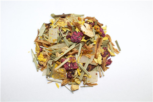 Teameni Aloe Vera Ginger Mandarin Fruit And Herbal Tea Blends