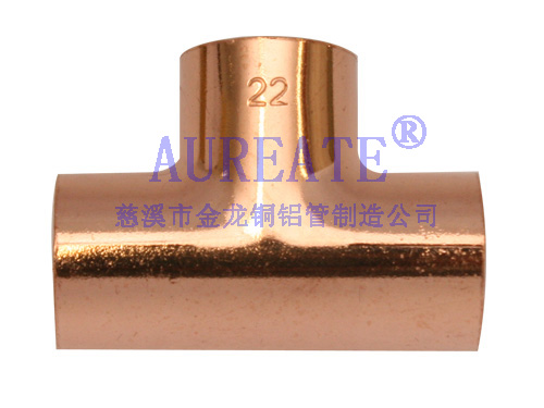 Tee Cxcxc Copper Fitting