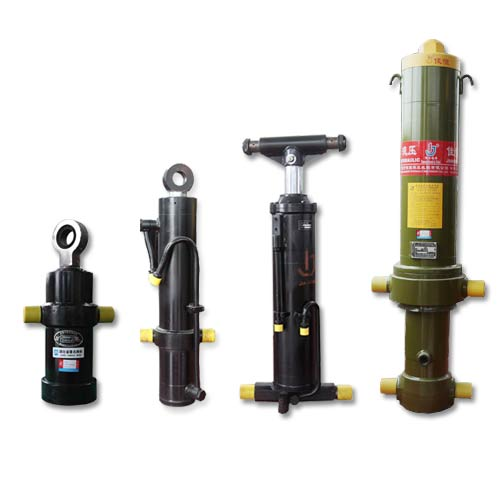 Telescopic Hydraulic Cylinder For Trucks And Equipments