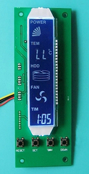 Temperature Module With Lcd Display