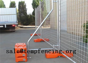 Temporary Fence Clamp Bracing