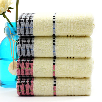 Terry Black Bath Towels