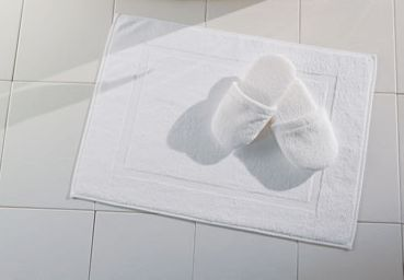 Terry Cotton Hotel Bath Mats