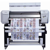 Textile Take Up System Feeding Fabric Printer C2