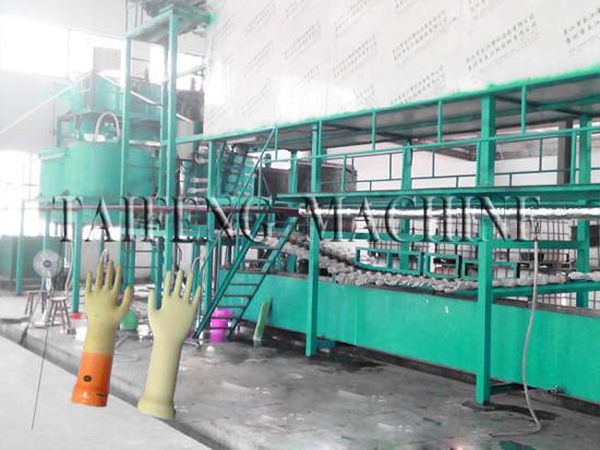 Tf Ysxlatex Gloves Production Line