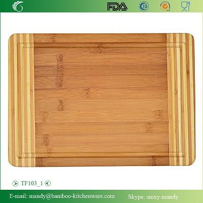 Tf103 Bamboo Cutting Board Chopping Block Mat