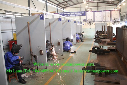 The Best Welders From Vietnam Recruitment Agency
