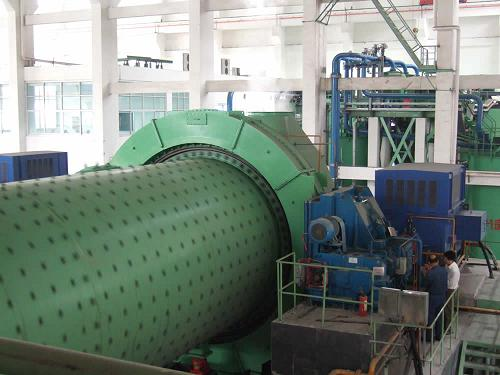 The Equipment Of Conical Ball Mill