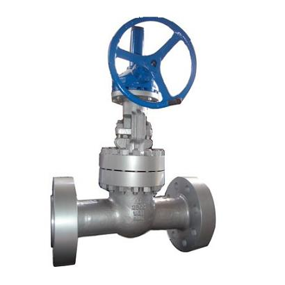 The High Pressure Stainless Steel And Cast Power Plant Gate Valve
