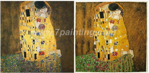The Kiss Klimt Oil Painting Reproduction
