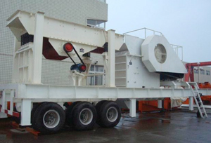 The Launched Mobile Crushing Plant Eliminates Cumbersome Steel Structure Foundation Construction For