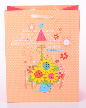 The Sunflower Floral Gift Bag