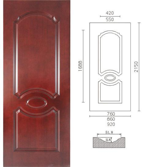 The Wooden Door Mdf Hdf Veneer Skin