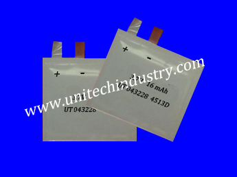 Thin Li Polymer Battery For Many Kinds Of Card