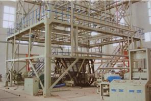 Three Layer Coextrusion Greenhouse Film Blowing Machine