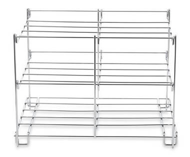 Three Tiered Oven Racks Save Space And Hold More Food
