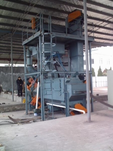 Through Type Cleaning Machine For Band Steel Qzj019