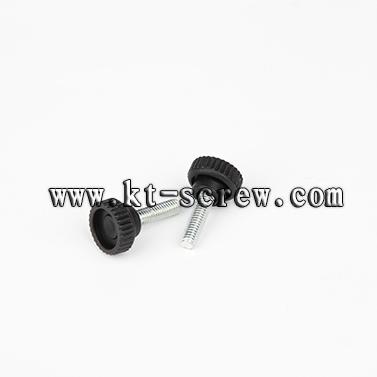 Thumb Screw Of M4 Knurled Plastic Head