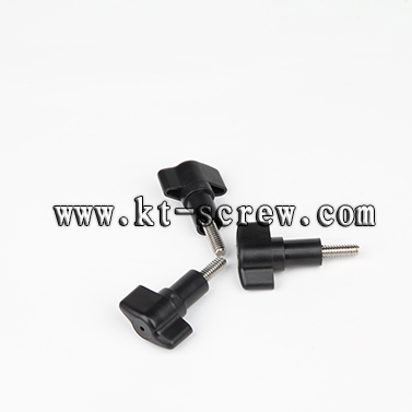 Thumb Screw Of Plastic Head Stainless Steel For Cleaning Equipment