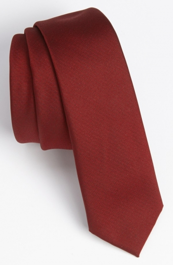 Ties In Red Colour Different Styles