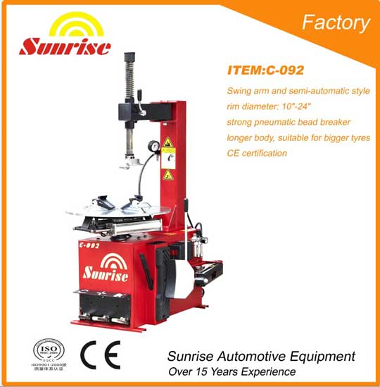 Tire Changer With Ce