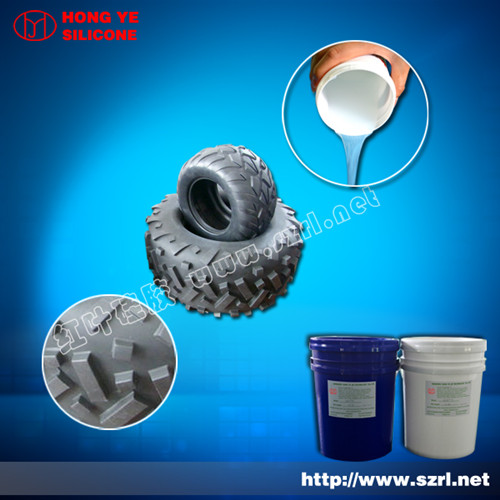 Tire Mold Of Platinum Cured Silicone Rubber