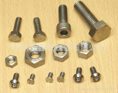 Titanium Bolts Screws And Nuts