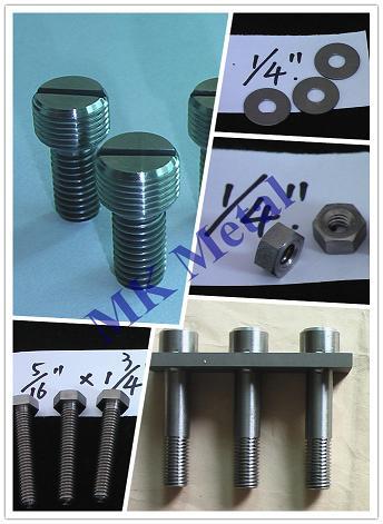 Titanium Fasteners Grade2 Grade3 Grade5