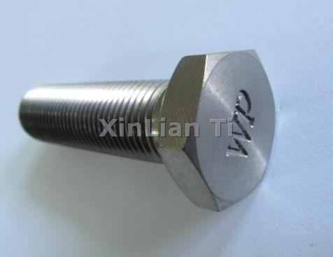 Titanium Hexagon Head Bolts