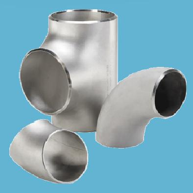 Titanium Seamless Pipe Fitting Cross Elbow