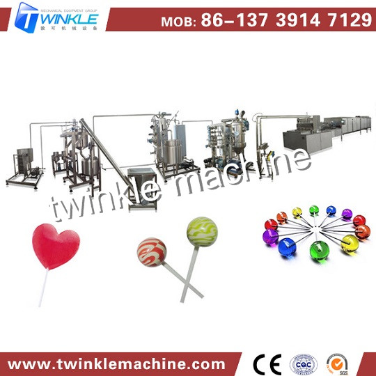 Tk 528 Lollipop Depositing Making Machine
