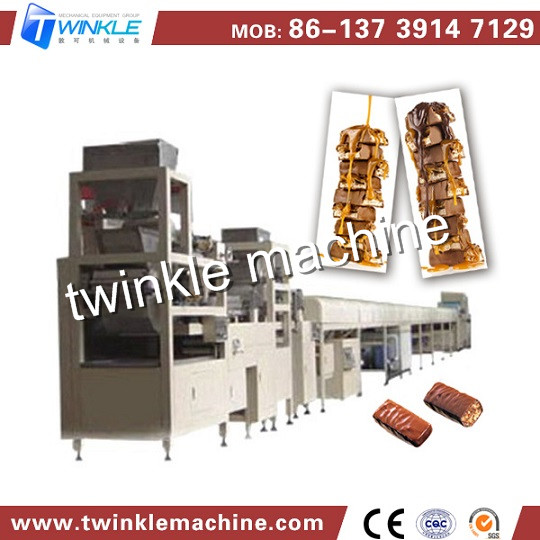 Tk Baf 300 Museli Cereal Confectionery Chocolate Bars Making Machine