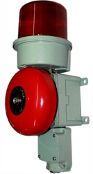 Tledbl One Bell For Heavy Duty Industrial Use Sound And Light