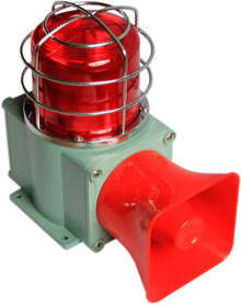 Tlhds Heavy Duty Industrial Use Strobe Sound And Light Alarm
