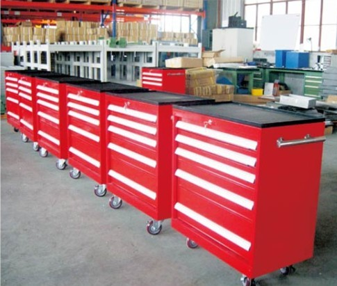 Tool Cart Multiple Configuration From A Minimum Height Of 50mm To Maximum