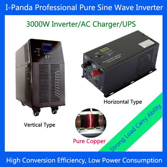 Top Level Quality Pure Sine Wave Inverter With Battery Charger Ups I P Tpi 3000w