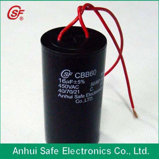 Top Manufacturer Cbb60 Capacitor