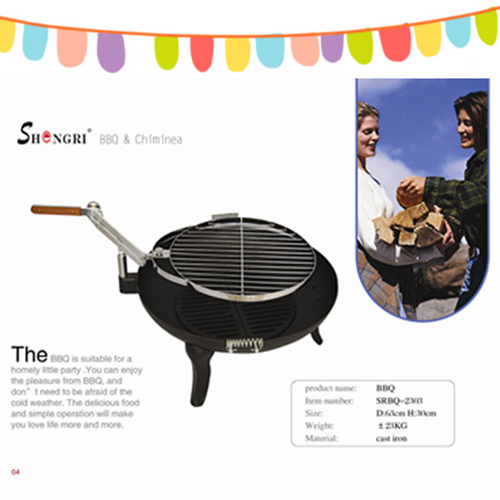 Top Quality Cast Iron Garden Bbq Grill