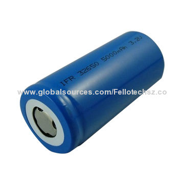 Top Quality Ifr32650 3 2v 5ah Lifepo4 Cylindrical Rechargeable Lithium Battery China Manufacturer