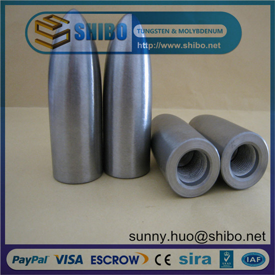 Top Quality Molybdenum Alloy Piercing Mandrel Moly Head