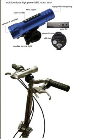 Top Selling Portable Mini Led Torch Flashlight For Bicycle