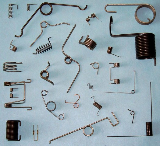 Torsion Springs Compression Clips Extension Brake Wire Forms Clutch Garter Electrical Plug Pins Wood