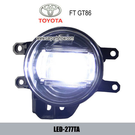 Toyota Gt 86 Front Fog Lamp Assembly Led Drl Lights Daytime Running Light 277ta