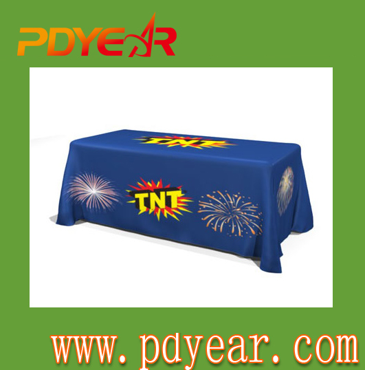 Trade Show Advertising Table Cover Printing